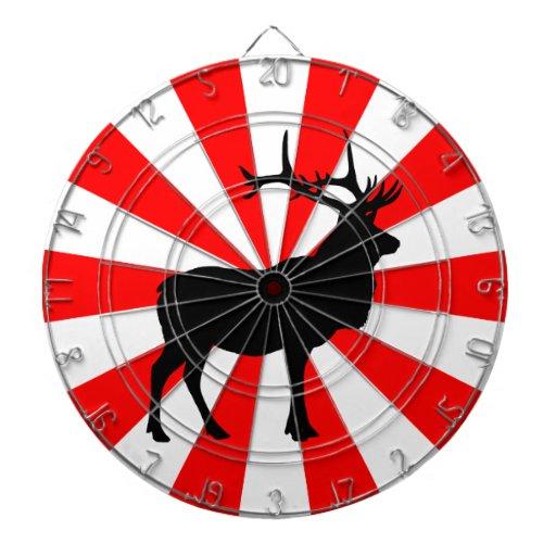 Elk Silhouette Dartboard