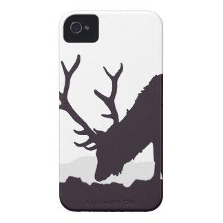 Elk Silhouette iPhone 4 Cover