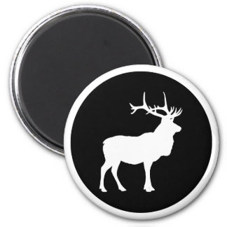 Elk Silhouette Magnet
