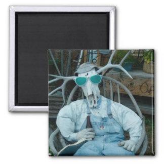 Elk skeleton head Fridge Magnet