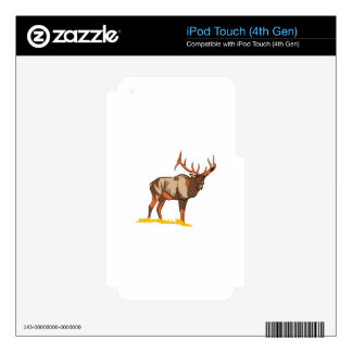 Elk iPod Touch 4G Skin