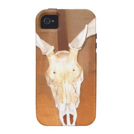 Elk Skull Case-Mate iPhone 4 Cases