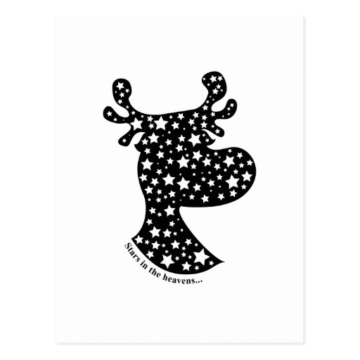 Elk Star Postcard