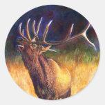 Elk, Stickers