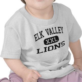 Elk Valley - Lions - High School - Longton Kansas Tshirt