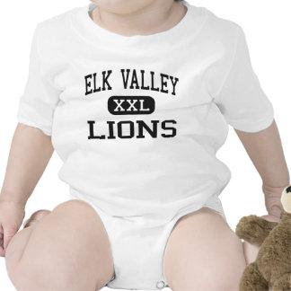 Elk Valley - Lions - High School - Longton Kansas Bodysuits