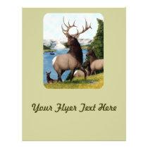 Elk Wapiti Flyer