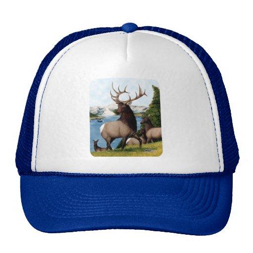 Elk Wapiti Trucker Hat