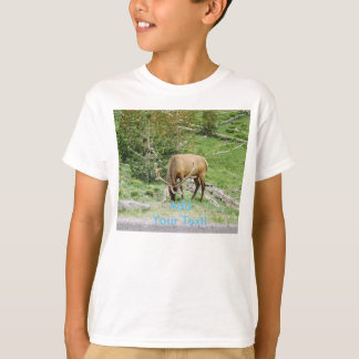 Elk With Velvet Antlers Yellowstone T-Shirt