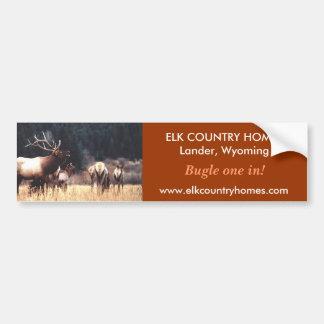 Elk, www.elkcountryhomes.com, ELK ... - Customized Bumper Sticker