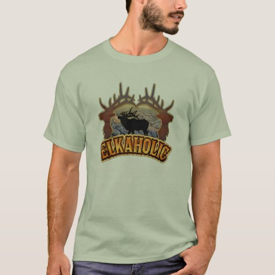 elkaholic elk camo T-Shirt