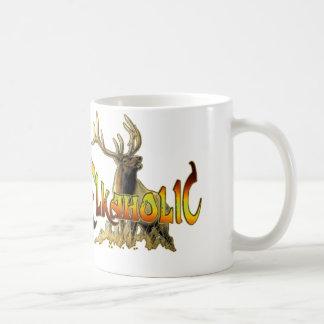 elkaholic elk gift classic white coffee mug