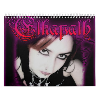 ELkapath Calendario De Pared