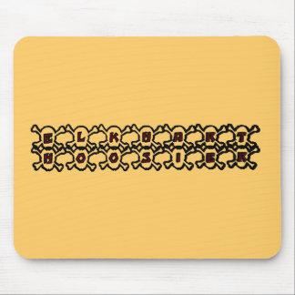 Elkhart Hoosier Mouse Pad