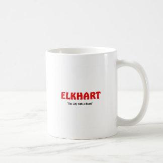 Elkhart, Indiana Coffee Mug