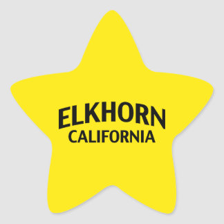 Elkhorn California Star Sticker