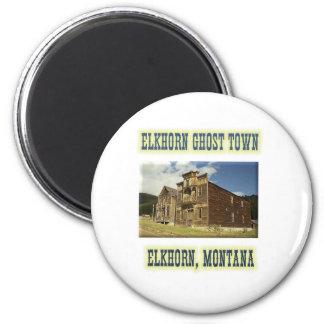Elkhorn Ghost Town Magnet