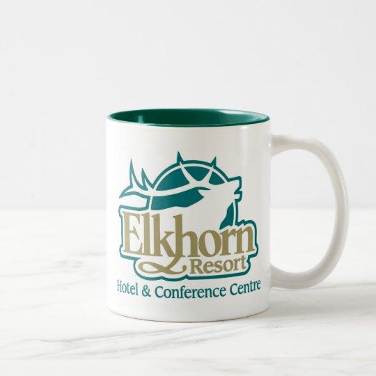 Elkhorn Mugs- Regular Size Two-Tone Coffee Mug