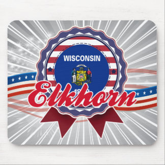 Elkhorn, WI Mouse Pads