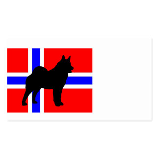 elkie silo on norway-flag png business card