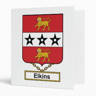 Elkins Family Crest Binder