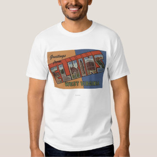 Elkins, Virginia Occidental - escenas grandes de Camisas