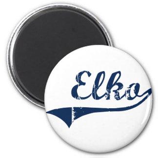 Elko Nevada Classic Design Magnet