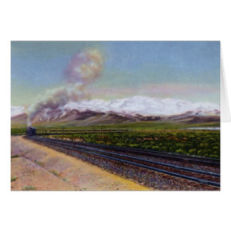 Elko Nevada Ruby Mountain Range Card