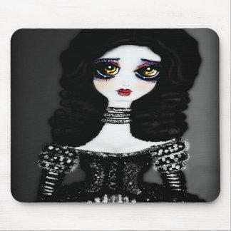 Ella (B/W) Mousepads