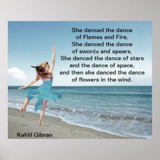 Ella bailó la danza posters