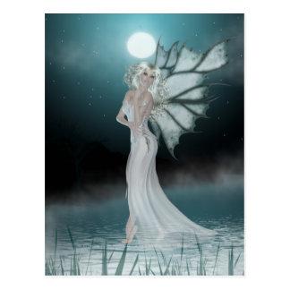 Ella camina en el agua - fantasía/postal 2 de Fae