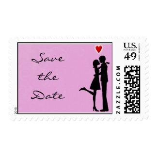 Ella dijo sí reserva la fecha sellos