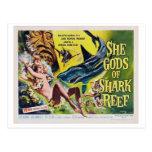 Ella dios de la postal 2 de la película del vintag