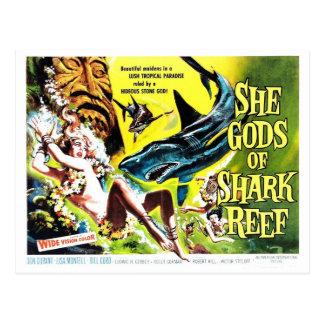 """Ella dioses postal del filón del tiburón"""