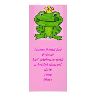 Ella encontró su invitación rosada del príncipe