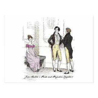 Ella es… Jane Austen tolerable P&P CH3 Tarjeta Postal