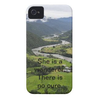Ella es un vagabundo No hay curación iPhone 4 Case-Mate Coberturas