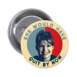"""""""Ella habría abandonado ahora"""" el botón Pins"""