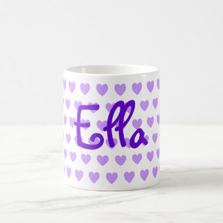 Ella in Purple Coffee Mug