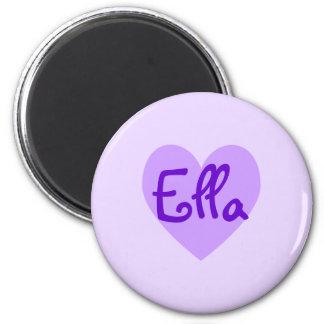 Ella in Purple Refrigerator Magnets