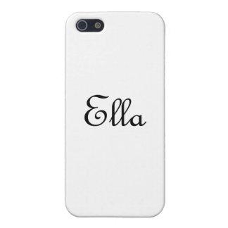 Ella iPhone SE/5/5s Case