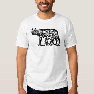 Ella-Lobo Camisas
