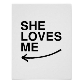 Ella me ama .png (izquierdo) posters