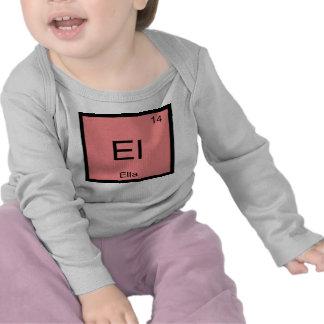 Ella Name Chemistry Element Periodic Table Tshirts