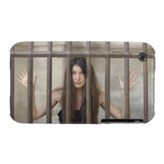 Ella no tiene nada sino manos limpias. Hay barras Case-Mate iPhone 3 Protector