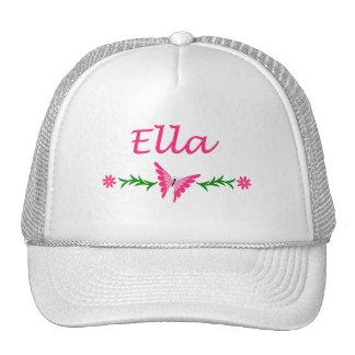 Ella (Pink Butterfly) Trucker Hat