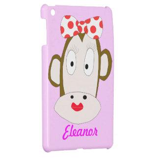 Ella plantilla del caso del iPad del chimpancé min iPad Mini Cárcasas
