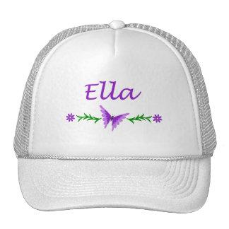 Ella (Purple Butterfly) Trucker Hat