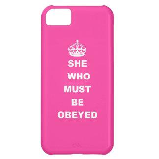 Ella que debe ser obedecida carcasa iPhone 5C