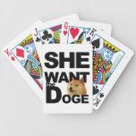 Ella quiere al dux barajas de cartas